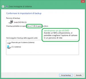 Come creare un DVD per resettare windows 8.1