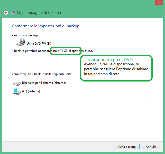 Come creare un DVD per resettare windows 8.1