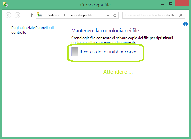 Come creare l'immagine di sistema in windows 8.1