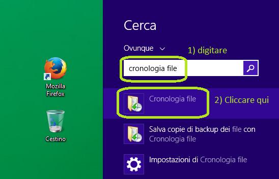 windows 8.1 creare immagine per reinstallazione